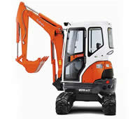 Kubota digger hire from Dial a Digger in Hampshire