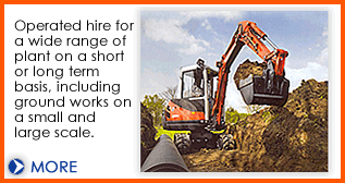 Operated machinery hire from Dial a Digger